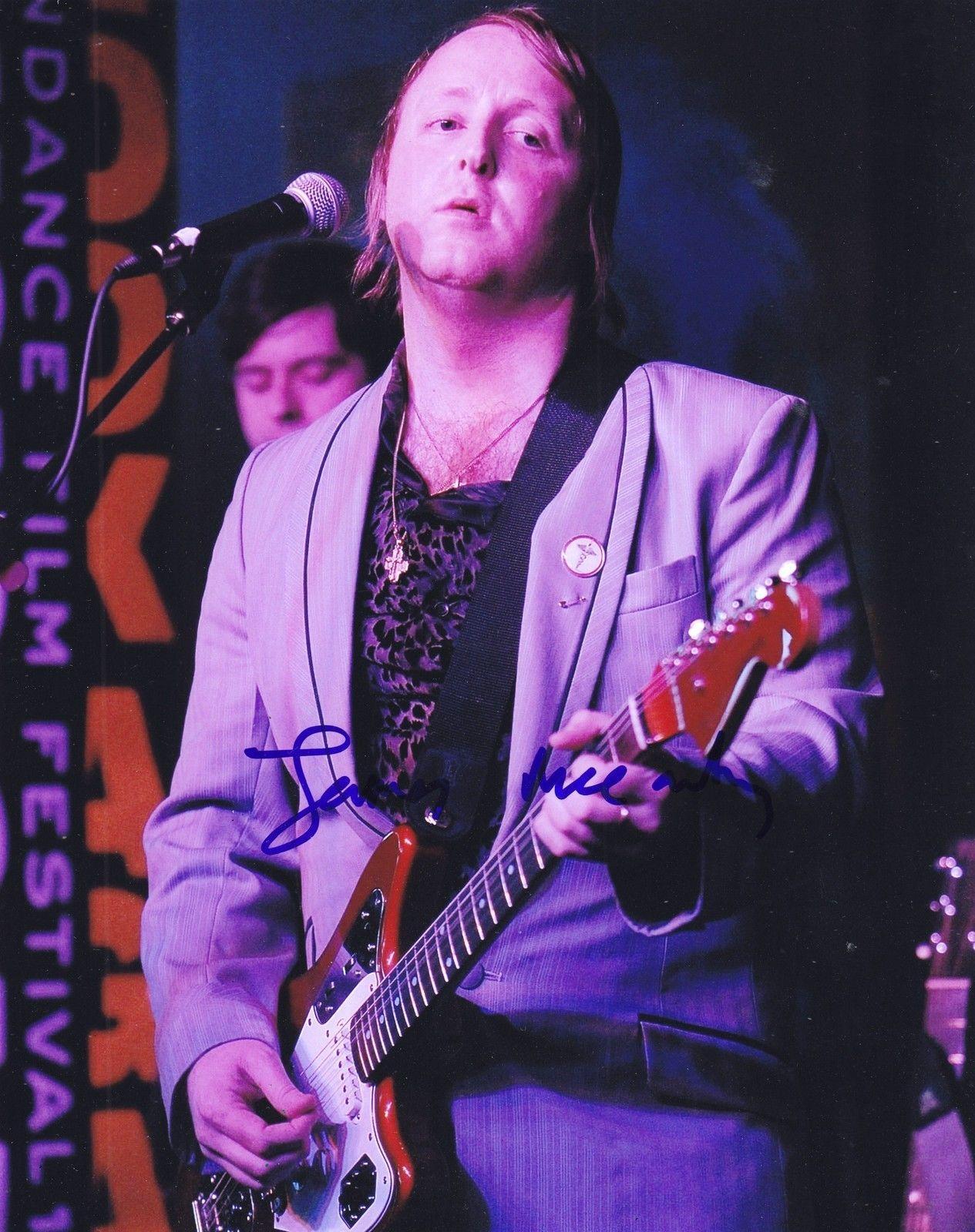 James McCartney Signed 8x10 Photo W/COA Proof Paul The Beatles Angel #2