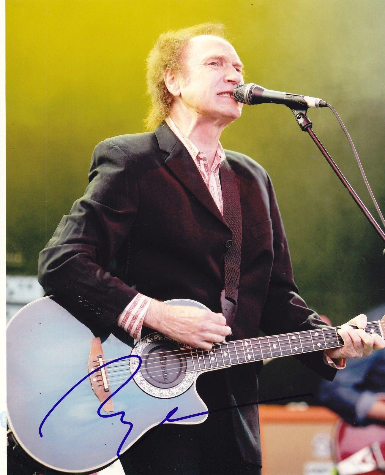 Ray Davies Signed 8x10 Photo w/COA The Kinks Lola See My Friends H