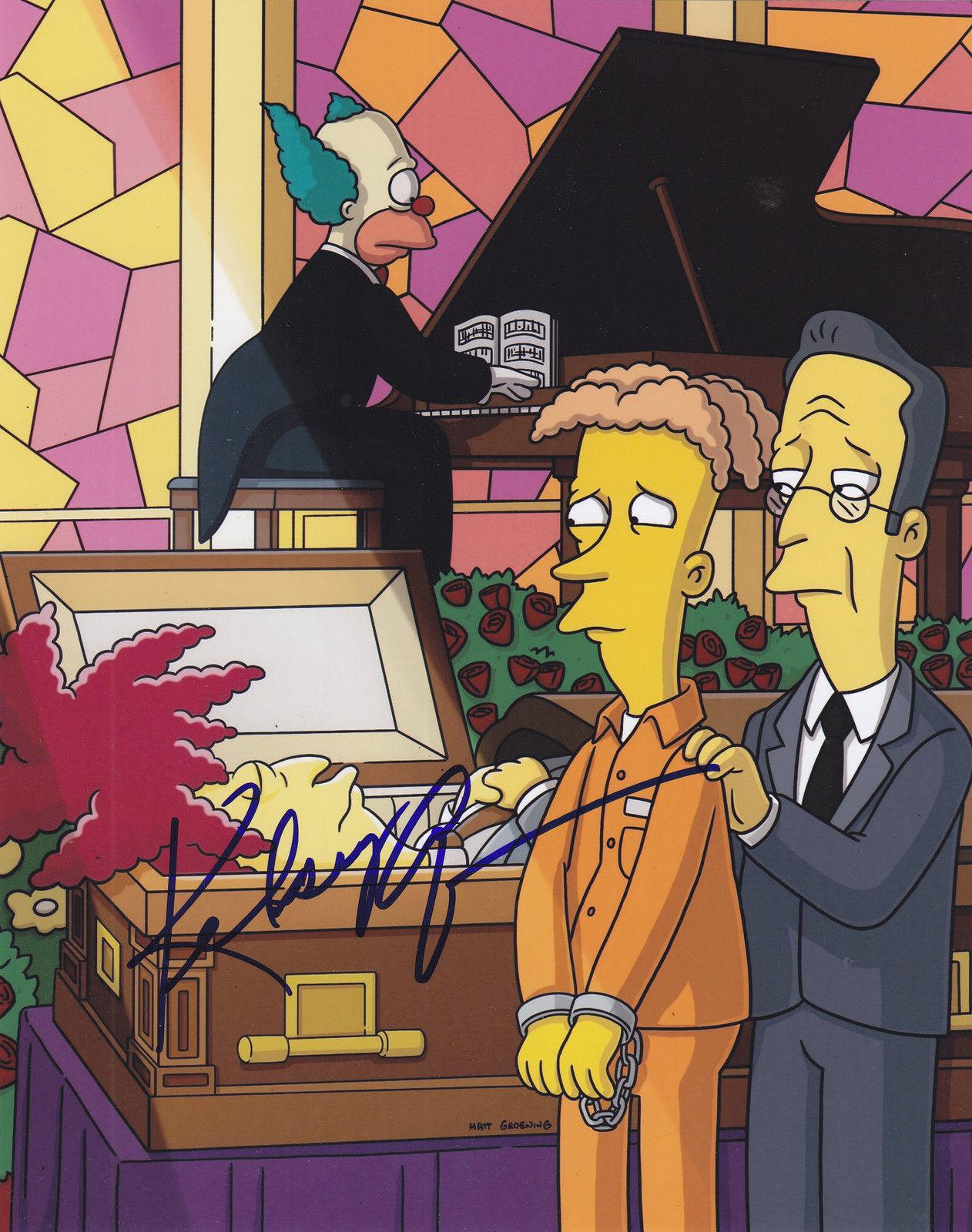 Kelsey Grammer Signed 8x10 Photo w/coa Frasier Simpsons Sideshow Bob #3