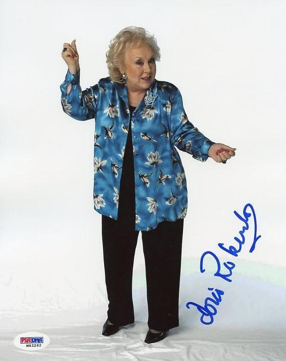 Doris Roberts Everybody Loves Ray Signed 8X10 Photo PSA/DNA #M42262