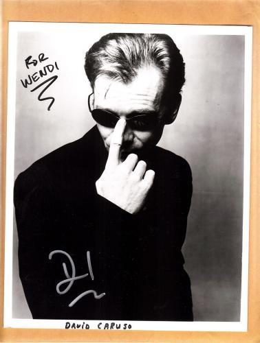 David Caruso-signed photo-15 a