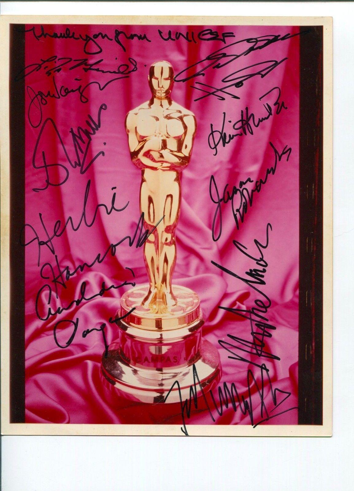 John Mills Autographed Photo - F Murray Abraham Liza Minnelli Herbie Hancock +6 JSA