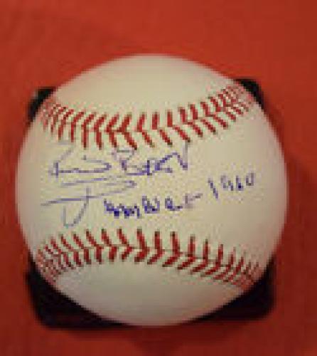 "Pete Best Signed Autographed Baseball The Beatles ""Hamburg 1960"" Exact Proof"