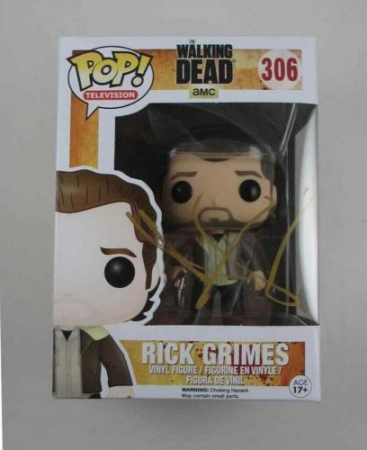 8cf717f364a Sale. Last One · Andrew Lincoln Walking Dead Autographed Signed Funko Pop  Doll JSA COA AFTAL.  580.44 Regular   610.99