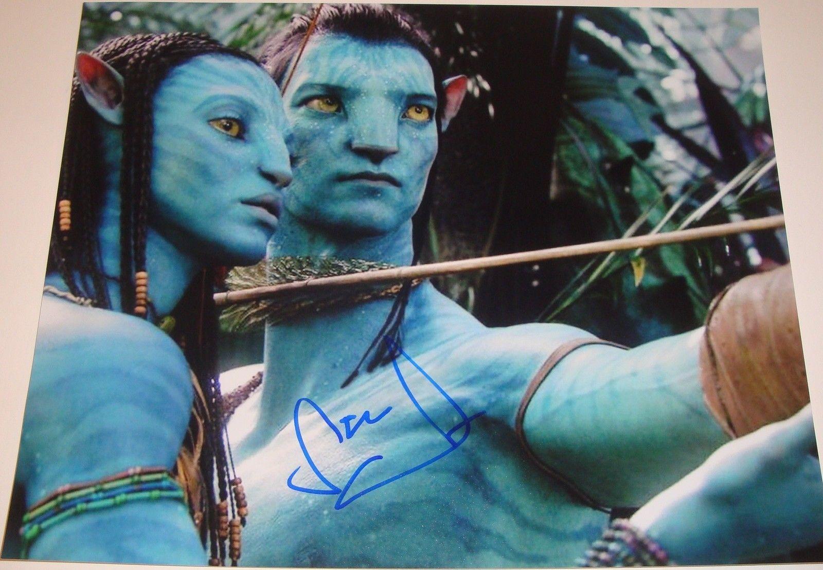 Sam Worthington Signed 11x14 Photo w/COA Proof Avatar Clash of the Titans A