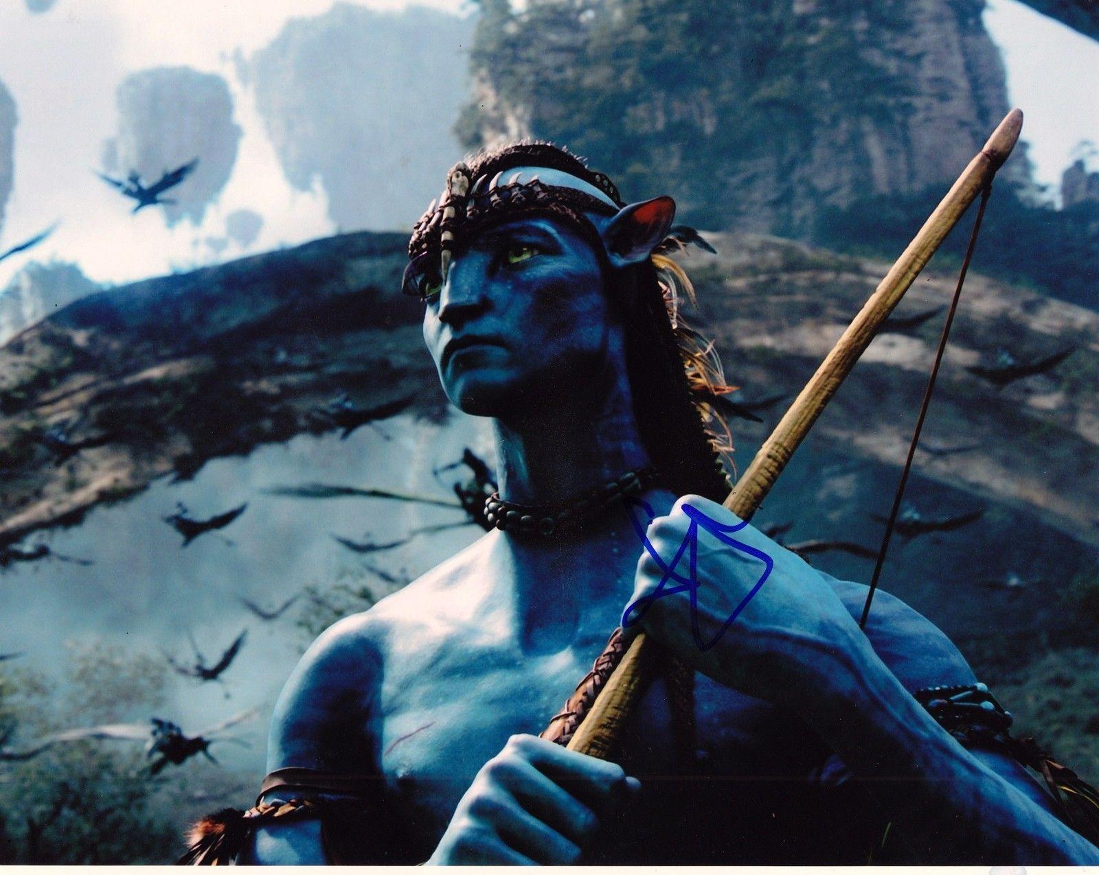 Sam Worthington Signed 8x10 Photo w/COA Proof Avatar Clash of the Titans B