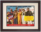 "Framed 8 1/2"" x 11"" 20th Annual 1978 Daytona 500 Program Print"