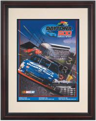 "Framed 8 1/2"" x 11"" 39th Annual 1997 Daytona 500 Program Print - Mounted Memories"