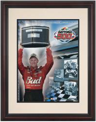 Framed 8 1/2'' x 11'' 47th Annual 2005 Daytona 500 Program Print - Mounted Memories
