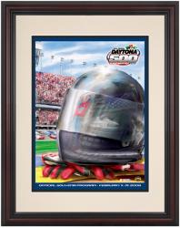 Framed 8 1/2''  x 11'' 48th Annual 2006 Daytona 500 Program Print - Mounted Memories