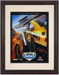 "Framed 8 1/2""  x 11"" 52nd Annual 2010 Daytona 500 Program Print"