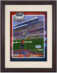 """Framed 8 1/2""""  x 11"""" 53rd Annual 2011 Daytona 500 Program Print"""