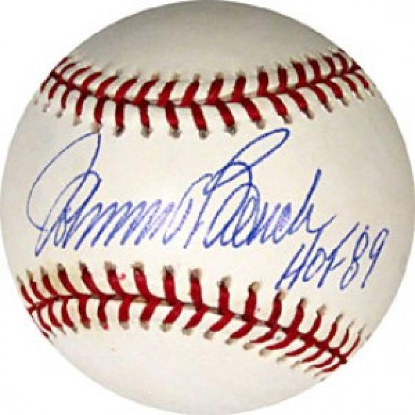 """Autographed Johnny Bench Baseball - with """"HoF 89"""" Inscription"""