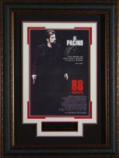 88 Minutes Al Pacino Autographed 11x17 Framed Poster