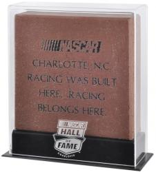 NASCAR Hall of Fame 9.5'' x 10.5'' Brick Display Case - Mounted Memories