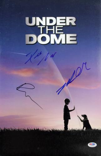 Under the Dome (Dean Norris, Rachelle Lefevre, +1) Signed 12x18 PSA/DNA #AB10807