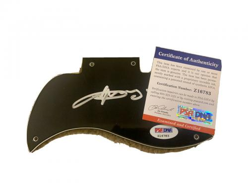 Angus Young AC/DC Signed Autographed SG Guitar Pickguard PSA Certified