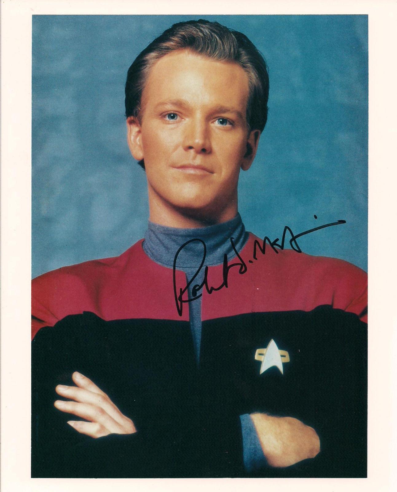 "Robert Duncan Mcneil ""paris"" Star Trek Autographed Signed 8x10 Photo W/coa"