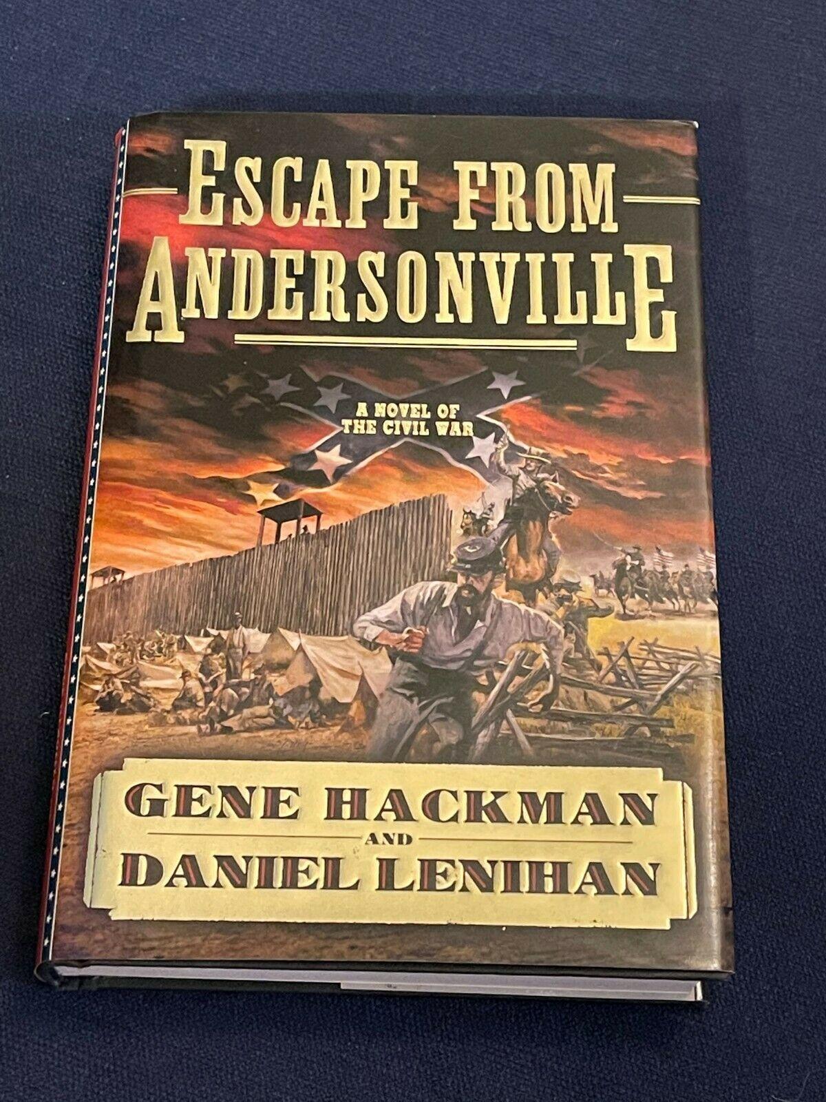 Gene Hackman Hoosier Superman Unforgiven Rare Signed Autograph Book Or Cut