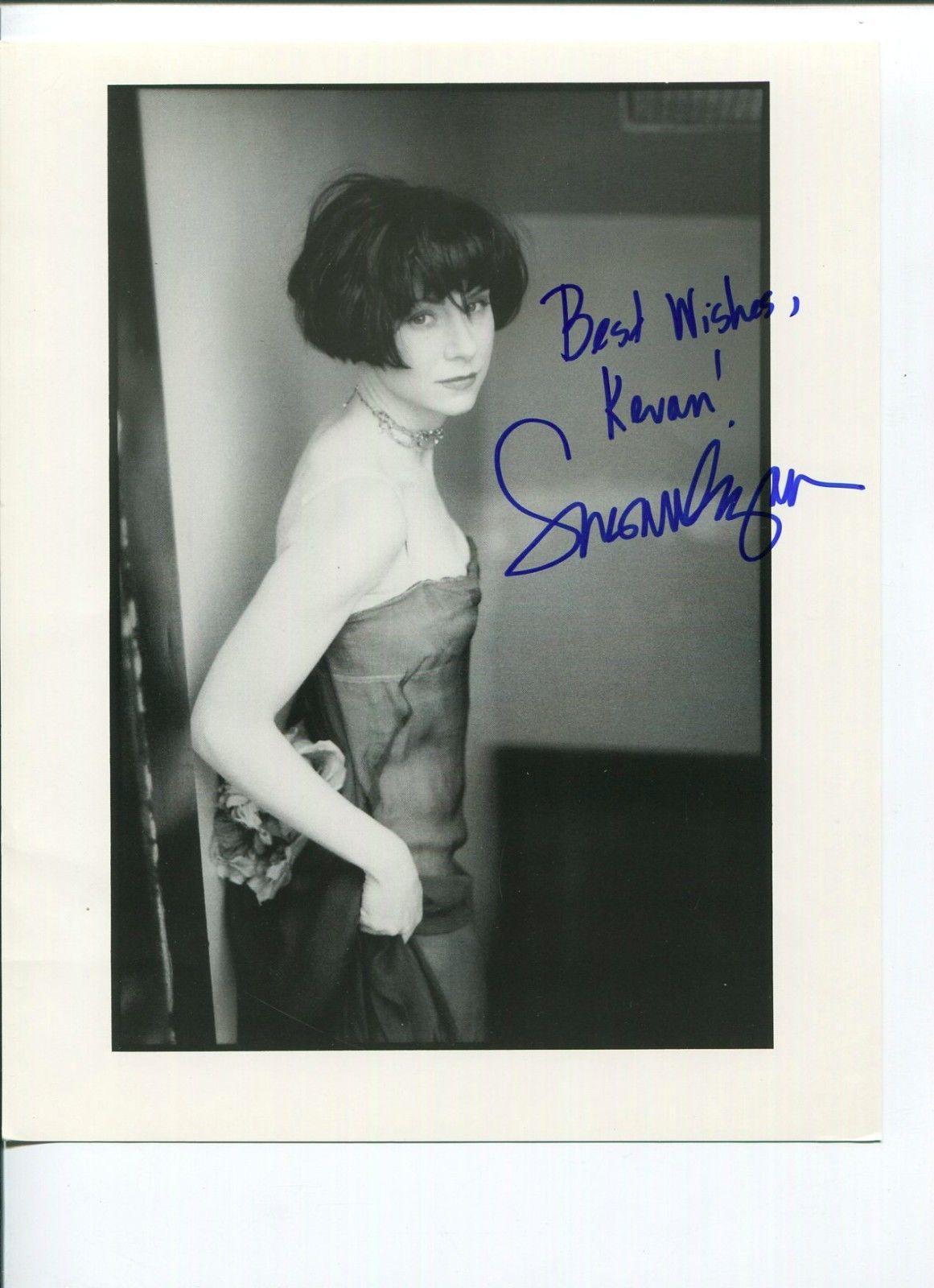 Susan Egan Disney Hercules Beauty and the Beast Nikki Signed Autograph Photo