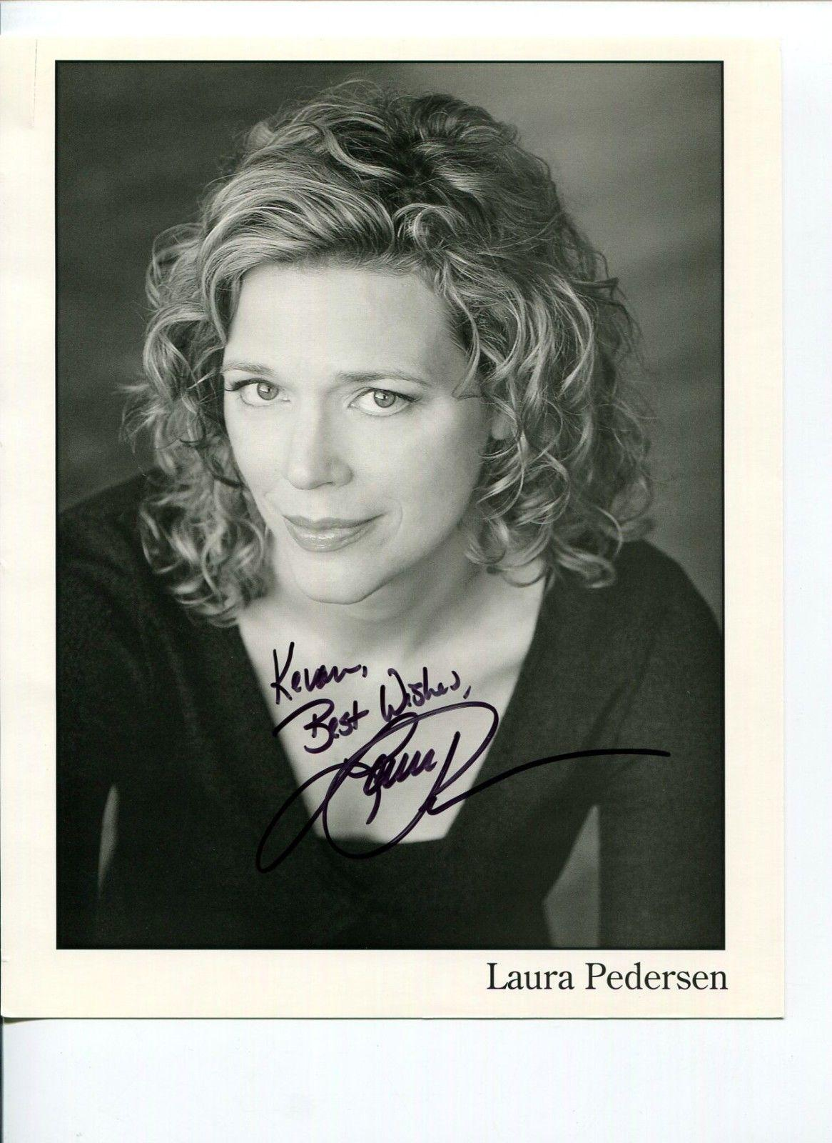 Laura Pedersen New York Times columnist And Author Signed Autograph Photo