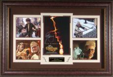 A Christmas Carol Jim Carrey Autographed Display