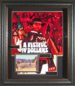 A Fistful of Dollars Clint Eastwood Autographed Framed Poster