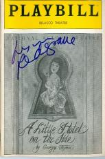 A Little Hotel on the Side autographed Broadway Playbill by Lynn Redgrave
