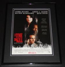 A Time to Kill 1996 11x14 Framed ORIGINAL Advertisement Sandra Bullock