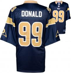 Aaron Donald St. Louis Rams Autographed Nike Game Jersey with 2014 1st Round Pick Inscription