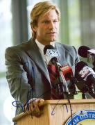 """Aaron Eckhart Autographed 8"""" x 10"""" The Dark Knight Photograph - Beckett COA"""