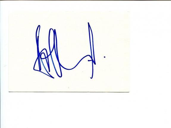 Aaron Eckhart Batman Dark Knight Signed Autograph