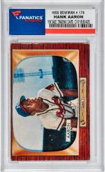 Hank Aaron Atlanta Braves 1955 Bowman #179 Card