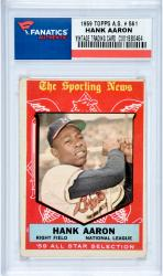 Hank Aaron Milwaukee Braves 1959 Topps A.S. #561 Card