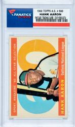 AARON, HANK (1960 TOPPS A.S. # 566) CARD - Mounted Memories