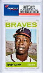 AARON, HANK (1964 POST # 300) CARD - Mounted Memories