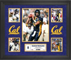 Aaron Rodgers California Golden Bears Framed 5-Photo Collage