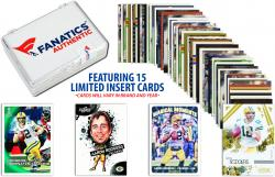 Aaron Rodgers Green Bay Packers Collectible 15 Card Insert / Limited Edition Lot