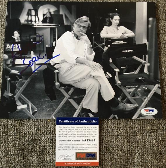 AARON SORKIN SIGNED AUTOGRAPH CLASSIC MOVIE BEHIND SCENES 8x10 PHOTO PSA DNA B