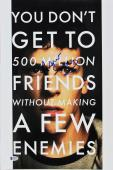 Aaron Sorkin The Social Network Signed 12x18 Mini Movie Poster BAS #E85183