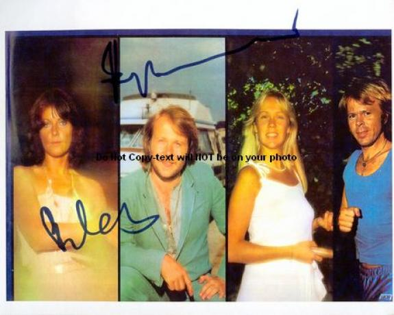 abba Facsimile Signature   Photo