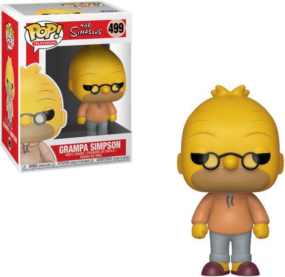 Abe Simpson The Simpsons #499 Funko Pop!