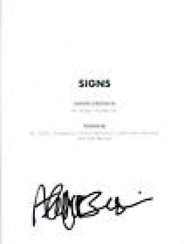 Abigail Breslin Signed Autographed SIGNS Full Movie Script COA