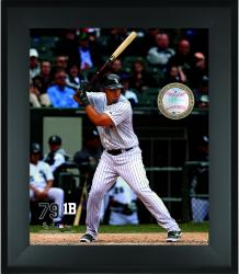 Jose Abreu Chicago White Sox Framed 20'' x 24'' Gamebreaker Photograph with Game-Used Ball - Mounted Memories