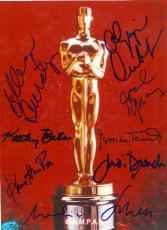 Academy Award autographed photo 8x10 by Jessica Tandy, Ellen Bursty, Joel Gray, & Kathy Bates, Maximillion Schell, Judi Dench, & Olympia Dukakis
