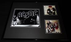 AC/DC 16x20 Framed Photo & CD Display