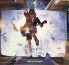 AC/DC Angus Young AC DC ACDC Signed Blow Up Your Video Album Vinyl LP AFTAL UACC