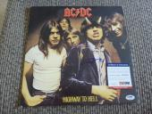 AC/DC Angus Young Highway To Hell Signed Autographed LP Album PSA Certified #1