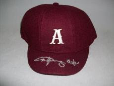 AC/DC ANGUS YOUNG signed autographed OFFICIAL AC/DC SCHOOL BOY HAT PSA/DNA COA