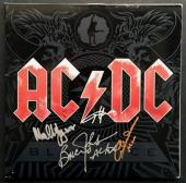 AC/DC Autographed Black Ice Album Signed by all 4 PSA DNA COA